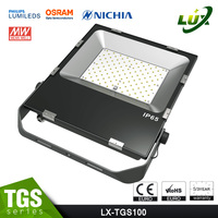 New series super design SMD IP65 CE ROHS 5 years warranty external led flood lights