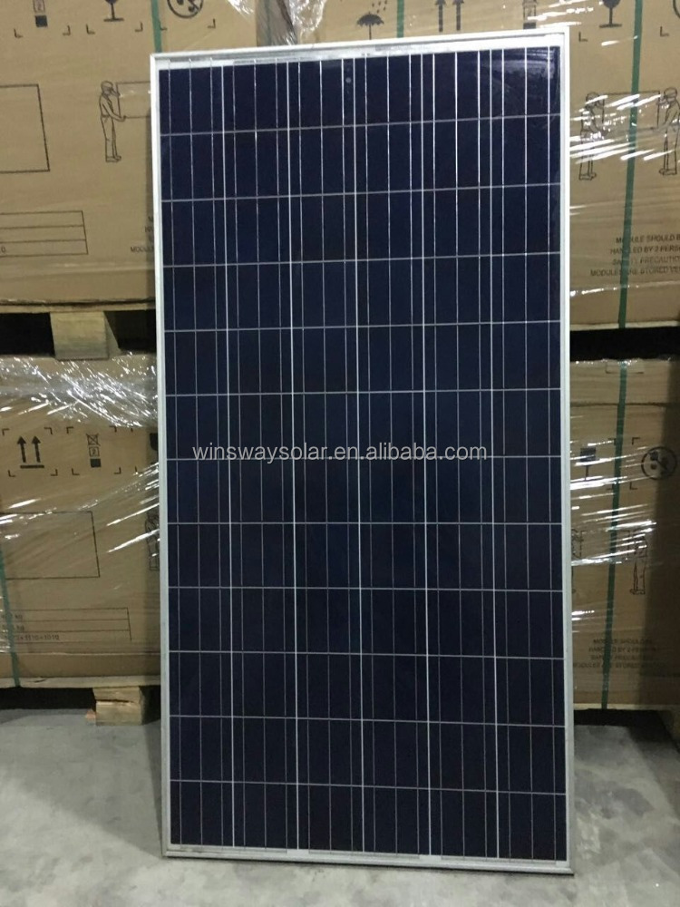 High Efficiency 320W Poly crystalline Silicon Solar Panel Module