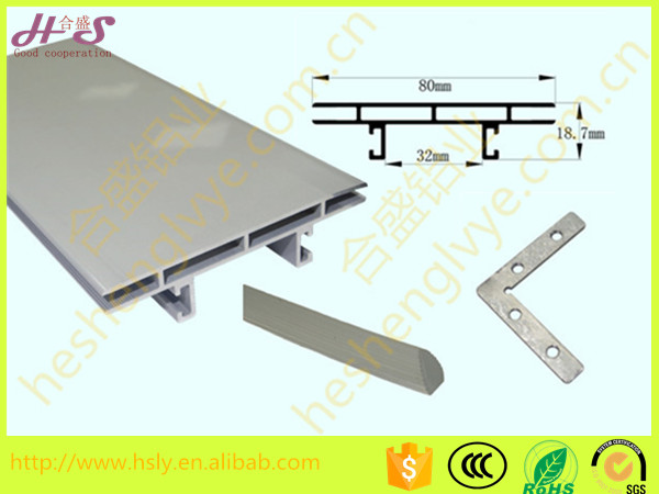 led backlit light box tension fabric display counter aluminum profile frame