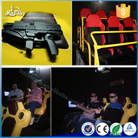 Interactive 7D Cinema Shooting Game 7D Cine 7D Kino Film 9D Theater Kino 9D 12D Kino