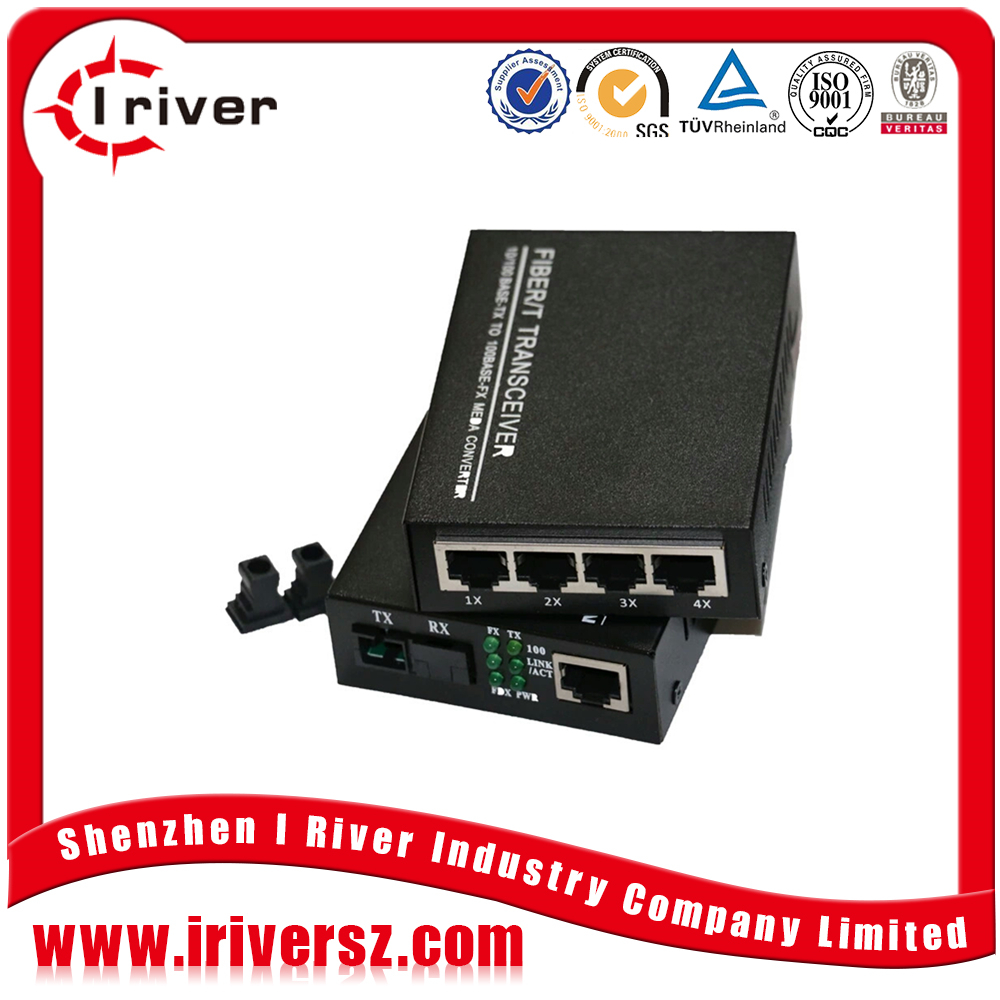 8port to 24 port 10/100/1000M/10G ethernet switch hub Fiber Optic Network Switches