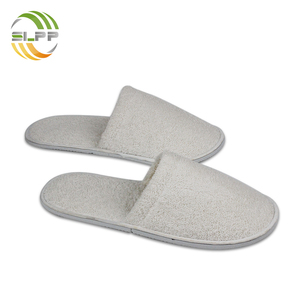 Fluffy high quality cotton terry slipper for hotel