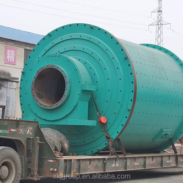 Dry raw material gold ore wet GMQ series grinding ball mill