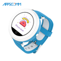 APPSCOMM 2018 Smart Watch GPS Tracker Wristwatches Kids Safety Real Time Monitoring Smart Watch Phone for Children