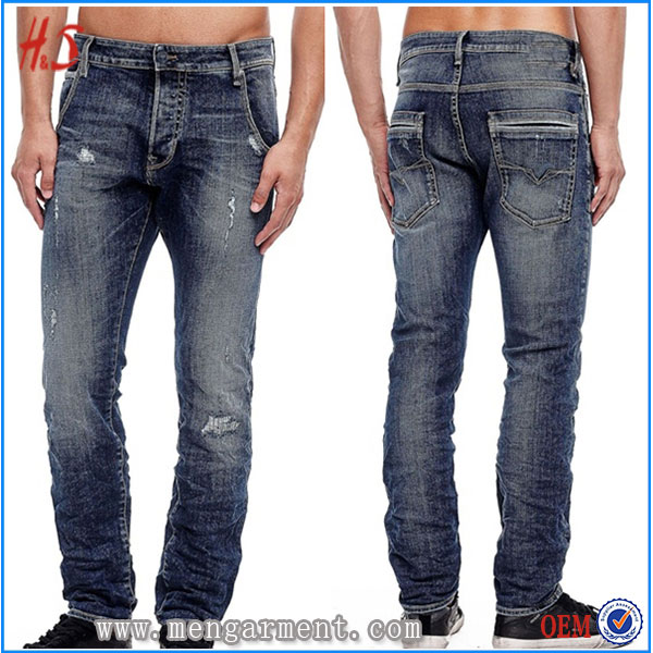 OEM Wholesale High Quality Men Jeans Urban Star Jeans Low Waist Denim Jeans Men Manufacturer