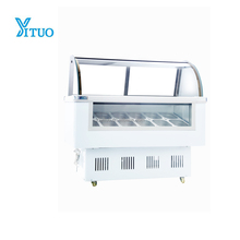 Hot Sale CE Approved Commercial Small gelato ice cream batch freezer for sale