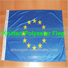 super knitted polyester custom design flag