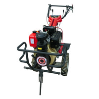11HP/8.2KW/435CC Big promotion manual rotary tiller best for sale