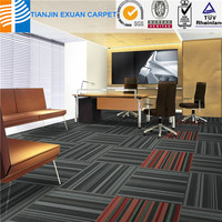 multi-level loop carpet tile
