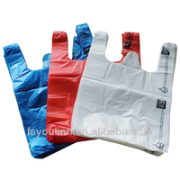 China supplier HDPE plastic carry bag design heavy duty shopping packaging bags