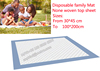 disposable pinic mat pad adult under pad outdoor mat disposable under pad