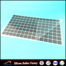 Super thin isolating thermal conductive silicone pad