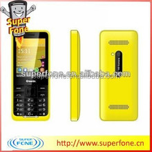 "Yellow TV Newest Bar Safe Talk Mobile Phone 2.4""QVGA (G700)"