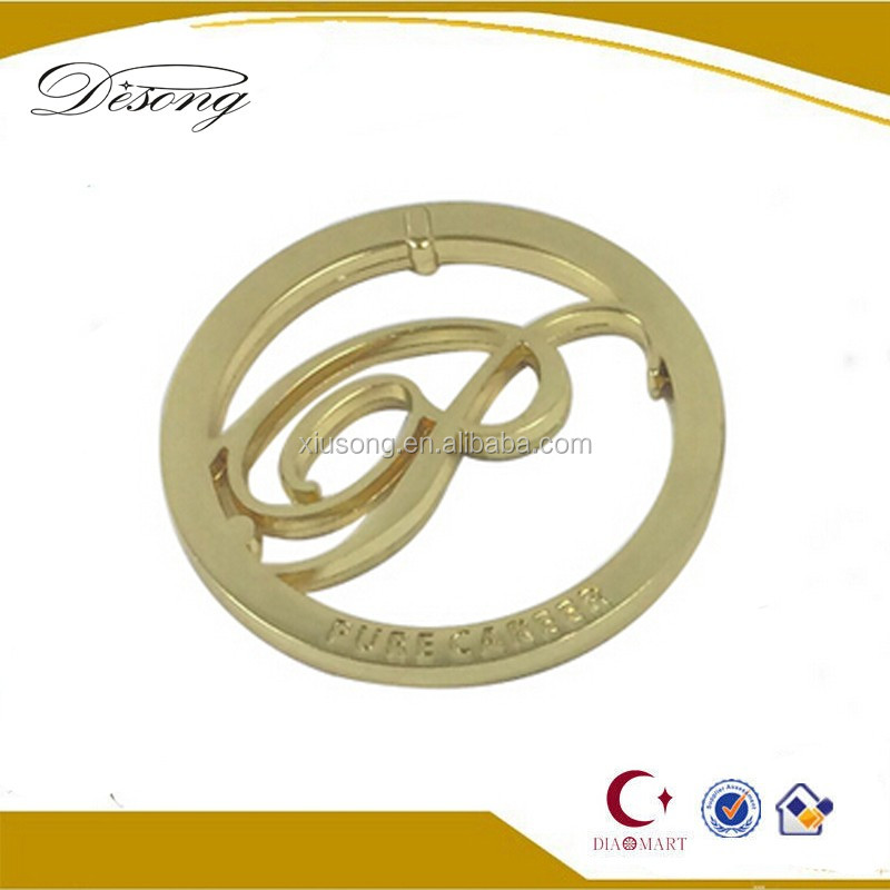 LOGO43 Professional manufacturer custom metal jewelry tags wholesale