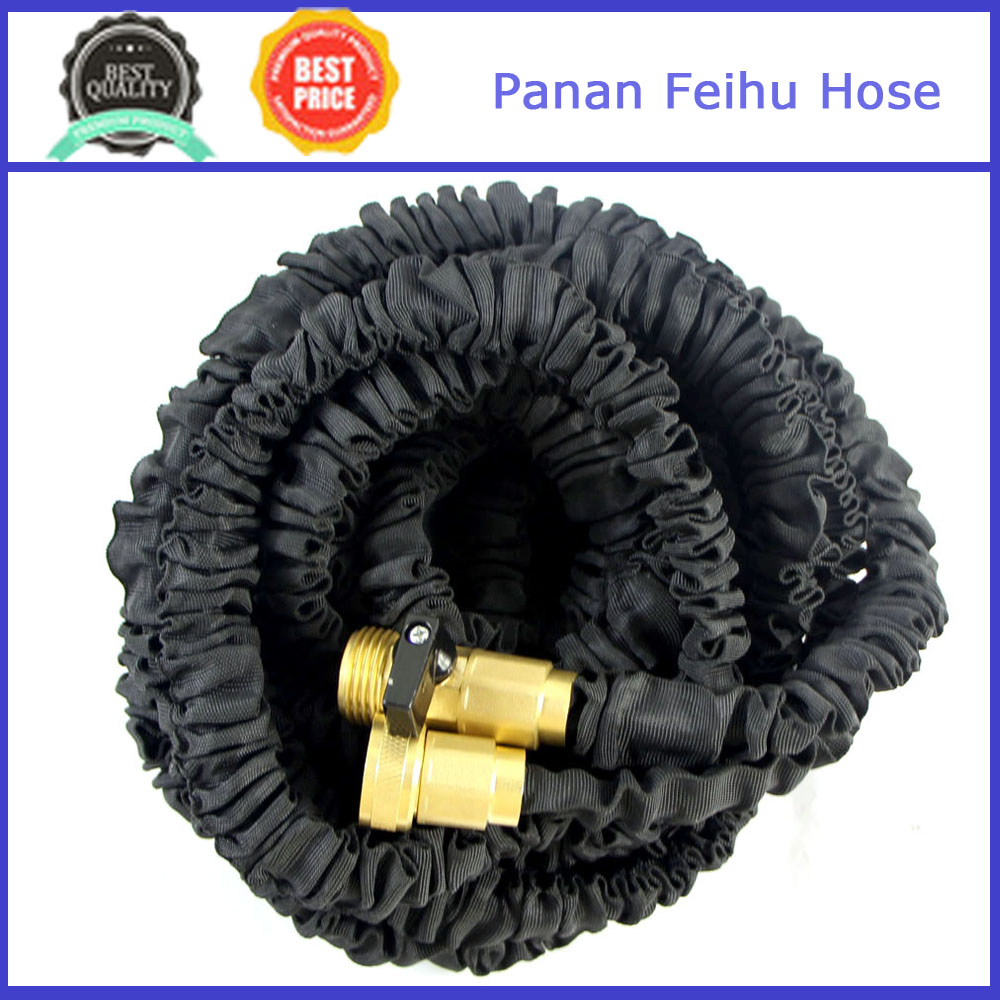 Expandable 100' Expanding Hose, Strongest Expandable Garden Hose on the Planet,Double Latex Core
