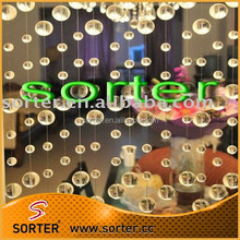 new design cheap crystal bead curtain for home decoration