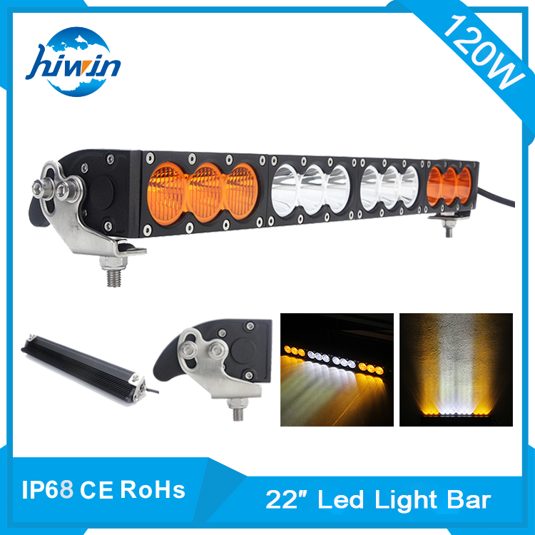 Hiwin 22inch 120w off road light bar semi-truck trailer led light bars