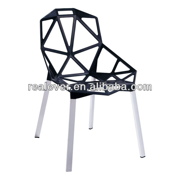 Replica one outdoor aluminum stacking dining magis chairs