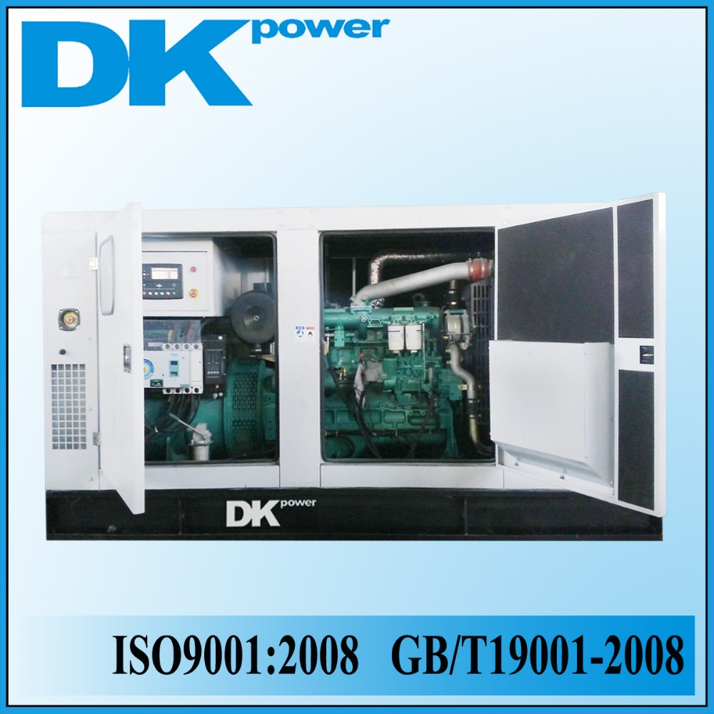 200kw, 500kw High quality sound proof silent generator