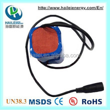 18650 4p rechargeable li-ion battery pack 3.7v 8000mah