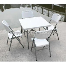 70*70cm high quality plastic folding square table, outdoor cheap plastic folding table for dining,banquet,Mahjongg,study