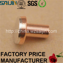 Manufacturer with SGS Approved Switch Silver Bimetal Rivet Copper Contact <strong>Points</strong>