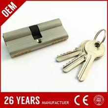 factory price iron euro size zipper lock provider with ODM