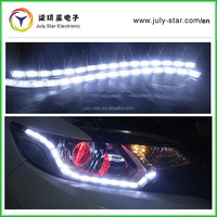 2016 New Products sequential flow style car flexible switchback led daytime runnning light