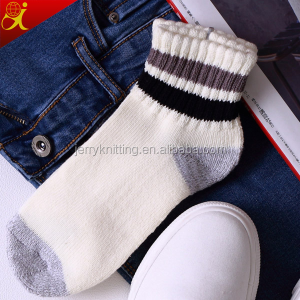 men's compression cotton custom terry socks