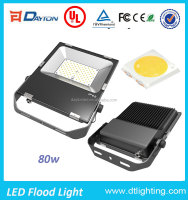 high power housing die cast aluminum waterproof 80w led flood light