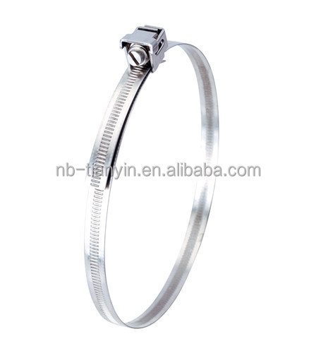 high quality stainless steel T type hose clamp with spring