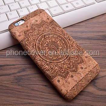 Mobile phone accessories factory in china cork wood mobile phone case , wooden cover case for iphone