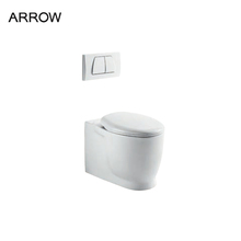 wholesale western luxury tankless wall mounted toilet
