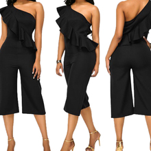 short pantsuit elagant soild black color skinny sexy bodycon jumpsuit 2017 women