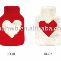 Faux Fur Hot Water Bag Cover