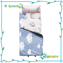 Print cotton kindergardern toddler napping mat for kids