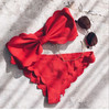 OEM Cheap Popular Sexy Hot Bowknot Beach Girl Lady Bikini