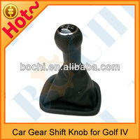 Auto Gear Shift Knob Gaiter with black frame for VW Golf IV