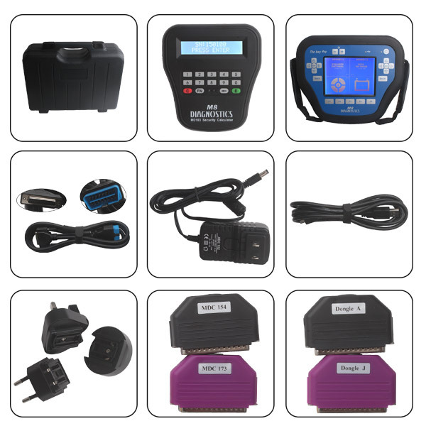 Wholesale Professional Auto Diagnostic Locksmith Tool t code key programmer MVP PRO M8 Key Programmer with 800 Tokens