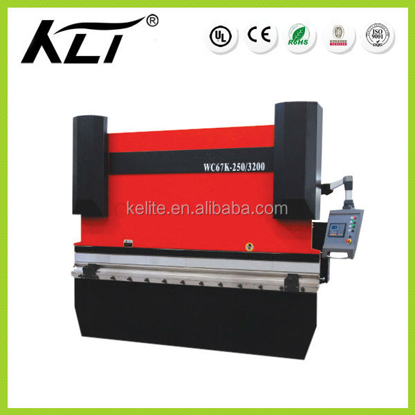 Electric CNC Hydraulic Press Brake For Sheet Metal Bending, WC67K