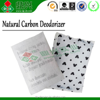 Activated carbon deodorizer agents packets/sachets