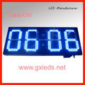 12inch Outdoor waterproof blue large led digital timer