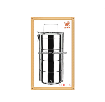 durable stainless steel food lunch box tiffin carrier with best price
