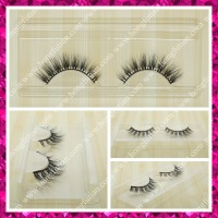 New Fashion mink fur eyelashes private label packaging 3D lashes Qingdao manufacturer
