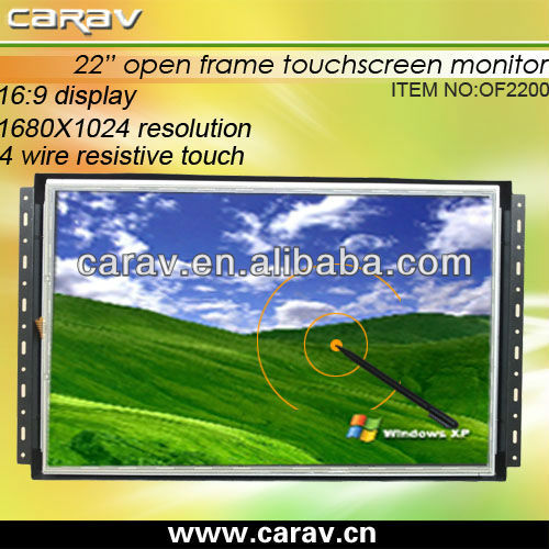 "12""/15""/17""/19""/22"" TFT LCD Open frame monitor (OF2200)"