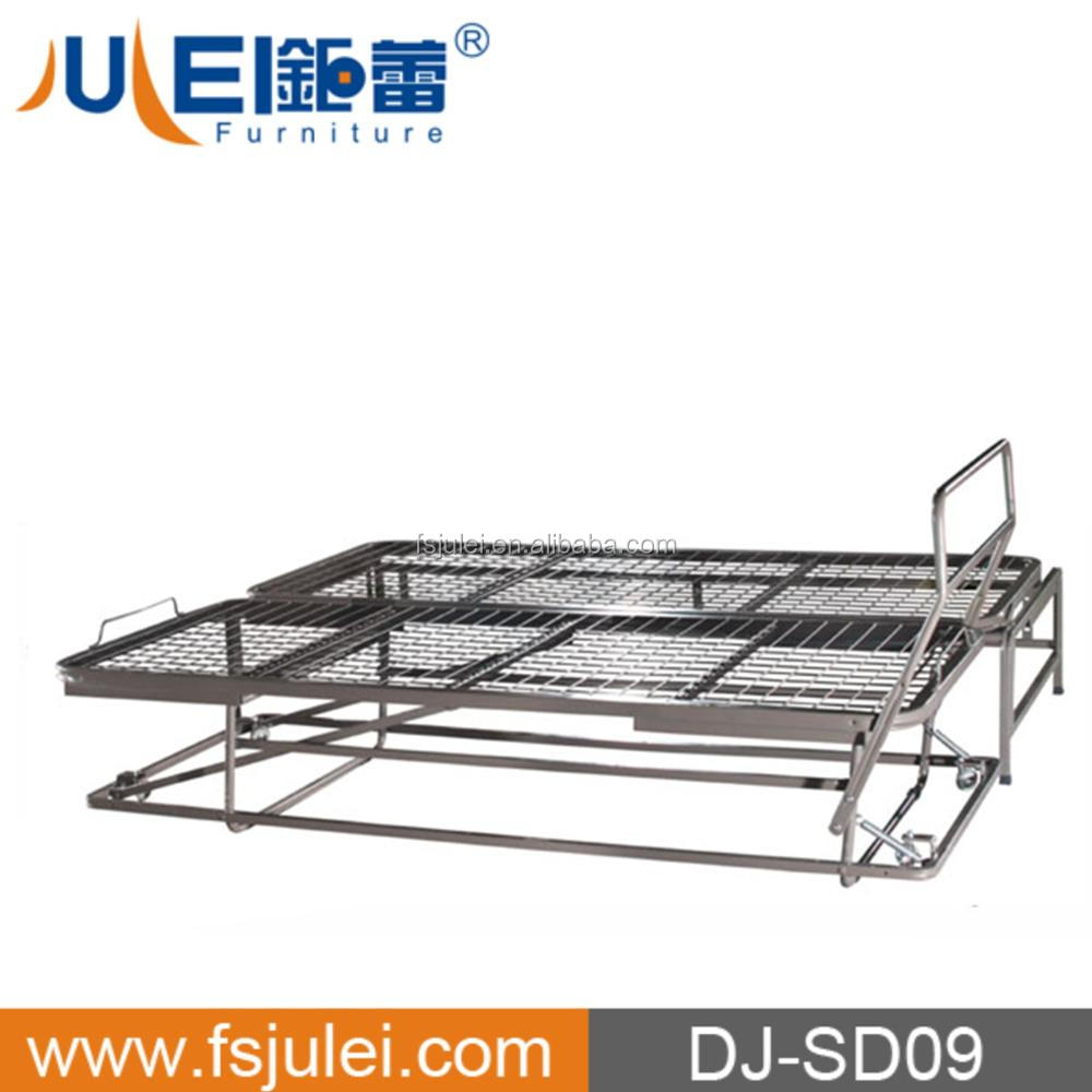 strong support three fold metal sofa bed frame mechanism DJ-SD09