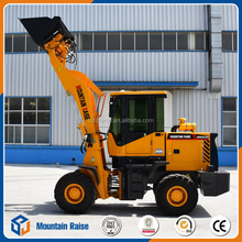 Made in China Earthmoving Mini Wheel Loader With Various Attachments