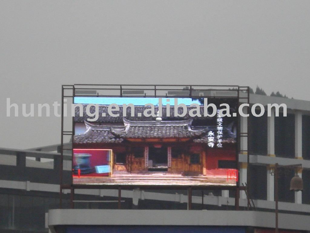shenzhen P16 led display advertising module,full color led sign module/led panel/board/billboard module screen on top building