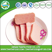 halal bulk canned chicken luncheon meat for India market