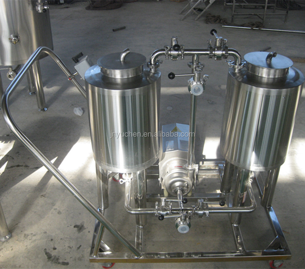 1000L Beer brewery equipment, conical fermenter, beer brewing system with steam heating
